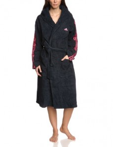 edler morgenmantel kimono kurz aus satin gr en s xxl. Black Bedroom Furniture Sets. Home Design Ideas