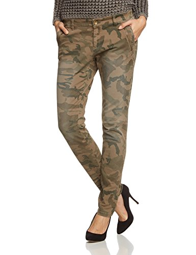 esprit damen chino hose mit camouflage muster 104ee1b020. Black Bedroom Furniture Sets. Home Design Ideas