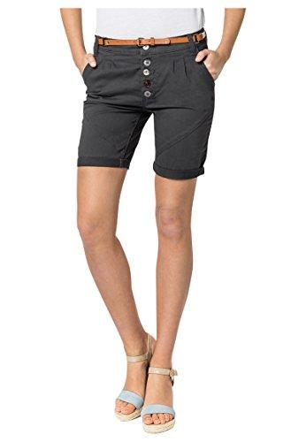 ed20dc471c3f9c Sublevel Damen Chino-Shorts mit Flecht-Gürtel I Leichte Bermuda I ...